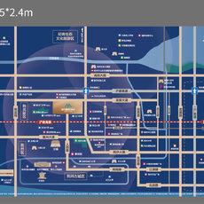 荆州当代城MOMΛ区位图