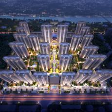 中建︱城發 荊江之星項目鳥瞰圖
