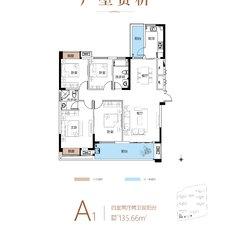信達·江城壹品A1戶型圖