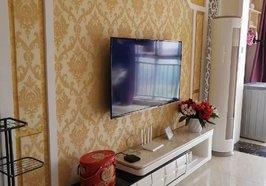 🍀 🍀 出租房:翡翠城电梯房中层,两室两厅精装修,家具家电齐全,年租金21800元