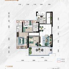 碧桂园 · 楚望府望园户型图