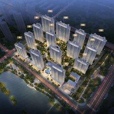 碧桂园·央玺项目鸟瞰图