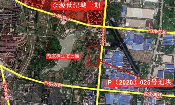 土拍预告 | 5.5万平方米的地块即将出让 起拍价1.75亿元