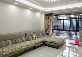锦绣江南 电梯房 车库上一楼   117平   66.8万   前后通透   精装 带所有的家具家电  空调四台      不动产权证已办好  支持按揭   看