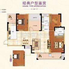 濱江未來城B2戶型戶型圖
