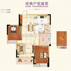 濱江未來城E1戶型戶型圖