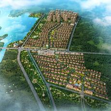 碧桂园山湖城项目效果图