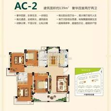 江南府·熙园AC-2户型户型图