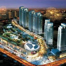 洪湖购物公园鸟瞰图