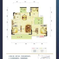鑫泰·中央天城F3户型图