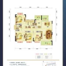 鑫泰·中央天城J1/J2户型图