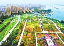 俯瞰临江仙公园:昔日砂石场 今朝风情带