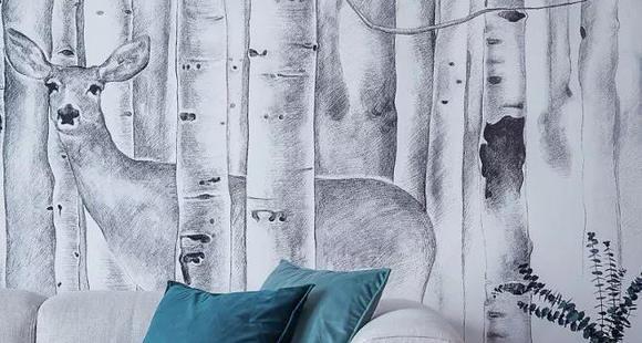 壁纸or乳胶漆or硅藻泥,到底选哪个?