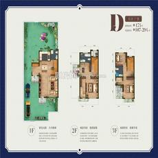 联投国际城丨云玺湾--项目别墅D双拼户型