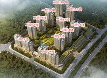 金松·尚含綠城:8月各樓棟工程進度