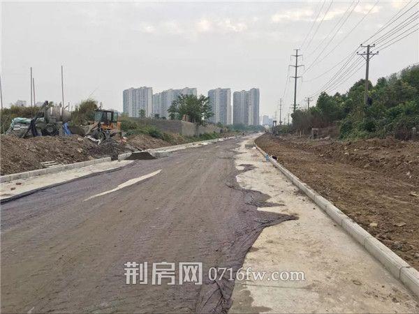 荆江大道江陵段破土开工 这个路段下月底通车!