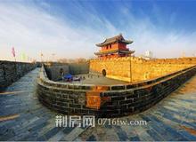 荆州西城墙保护工程正在进行中 预计春节后完工