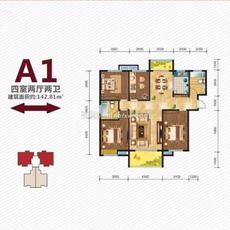 東方國際公館3期A1戶型戶型圖