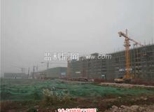 华中农商城11月进度:1#、2#楼已封顶
