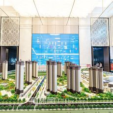 荆州吾悦广场项目沙盘图片
