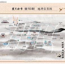 楚天都市·壹号院项目区位图
