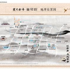 荆州楚天都市·壹号院项目区位图