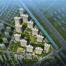 楚天都市·壹号院项目鸟瞰图
