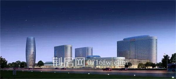 荆州市中心医院荆北新院规划图