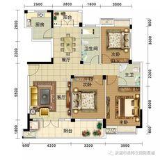 圣特立·国际星城4户型户型图