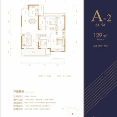 憶美·領秀城A-2戶型6# 9#戶型圖