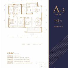 憶美·領秀城A-3戶型6# 9#戶型圖