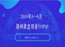 荆州楼市2019年1—6月销量TOP10