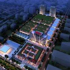 米兰国际公馆项目鸟瞰图