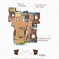 东都怡景·熙湖XG-9户型图