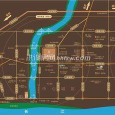 信泰·御湖公馆项目区位图