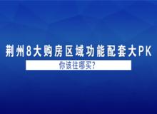 荆州8大购房区域功能配套大PK 你该往哪买?