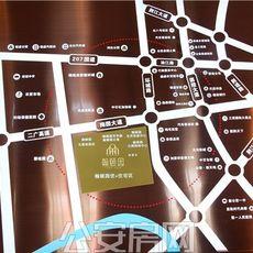 公安翰颐园项目区位图