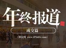 2019年终成交篇:荆州商品房住宅成交17628套