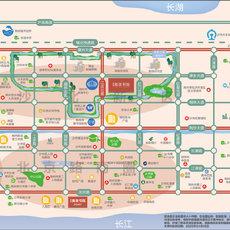 金科集美书院项目区位图