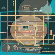 楚天都市信园区位图