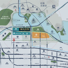 曲池东院区位图