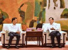 王忠林、周先旺與世茂集團董事局主席許榮茂座談