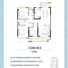 荆州海洋世界•海棠湾A户型户型图