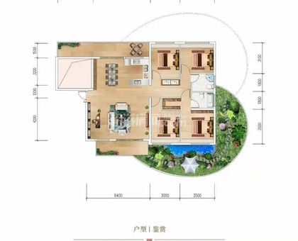 福鑫·陽光云筑A18戶型