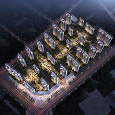碧桂园 · 楚望府项目鸟瞰图
