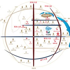 中央城区位图