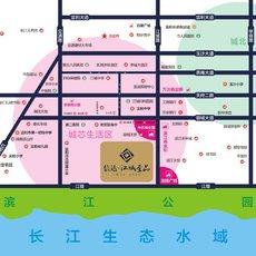 信達·江城壹品區位圖