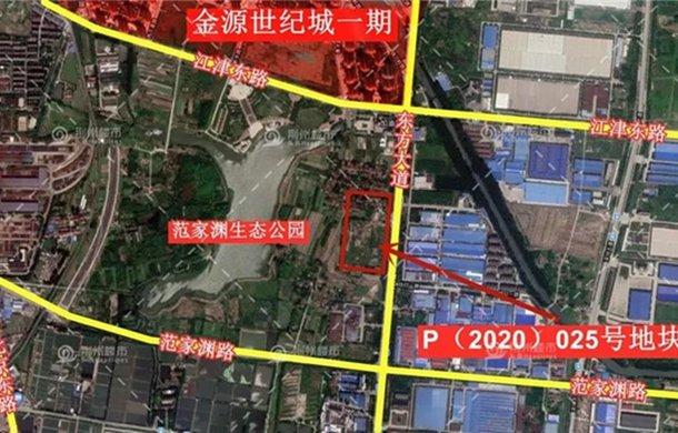 1.75亿元!荆州世纪新城有限公司拿下城东P025号地块