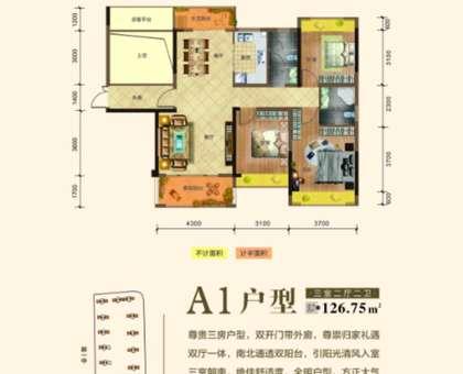 九州·桃李春風戶型圖1